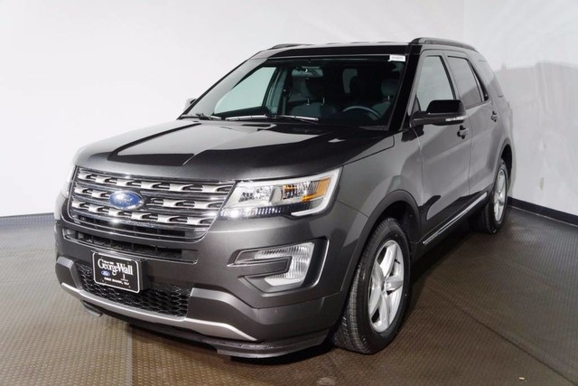 new 2017 ford explorer xlt suv in red bank 17 3038 george wall ford lincoln. Black Bedroom Furniture Sets. Home Design Ideas