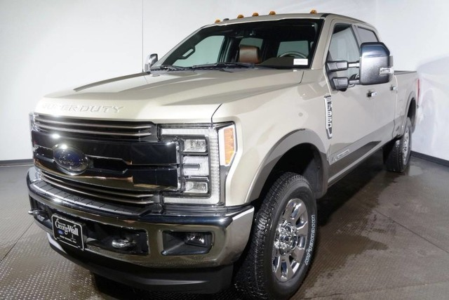 New 2018 Ford Super Duty F 350 SRW King Ranch Pickup Truck in Red