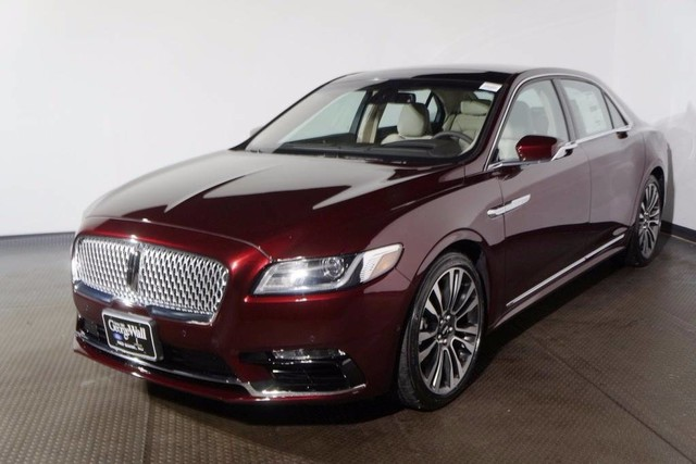 New 2018 Lincoln Continental Reserve Sedan In Red Bank 18